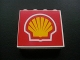 Part No: 4215bpb23  Name: Panel 1 x 4 x 3 with Shell Logo Pattern (Sticker) - Set 8672