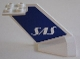 Part No: 4867pb08  Name: Tail Wedge with SAS Logo Pattern on Both Sides (Stickers) - Set 4032-2