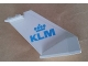 Part No: 4867pb23  Name: Tail Wedge with KLM Logo Pattern on Both Sides (Stickers) - Set 4032-11