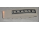 Part No: 61678pb006  Name: Slope, Curved 4 x 1 No Studs with Grille Pattern (Sticker) - Set 5971