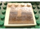 Part No: 6179pb019  Name: Tile, Modified 4 x 4 with Studs on Edge with Mirror Square Pattern (Sticker) - Set 1382