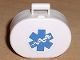 Part No: 6203pb07  Name: Scala Utensil Oval Case with EMT Star of Life Pattern (Sticker)