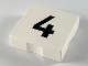 Part No: 6309pb004  Name: Duplo Tile 2 x 2 with Number 4 Pattern