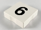Part No: 6309pb006  Name: Duplo Tile 2 x 2 with Number 6 Pattern