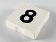 Part No: 6309pb008  Name: Duplo Tile 2 x 2 with Number 8 Pattern
