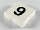 Part No: 6309pb009  Name: Duplo Tile 2 x 2 with Number 9 Pattern