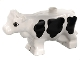 Part No: 6673pb01  Name: Duplo Cow New Style with Black Spots