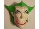 Part No: 70454c01pb01  Name: Large Figure Head Modified Super Heroes Joker Pattern