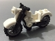 Part No: 85983c01  Name: Motorcycle Vintage, Complete Assembly with Black Chassis and Light Bluish Gray Wheels