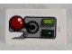 Part No: 85984pb040R  Name: Slope 30 1 x 2 x 2/3 with Joystick and 2 Buttons Pattern Model Right Side (Sticker) - Set 8864