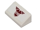 Part No: 85984pb057  Name: Slope 30 1 x 2 x 2/3 with Dark Red Wings and '54' Pattern (Sticker) - Set 75048