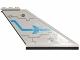 Part No: 87614pb006R  Name: Tail 12 x 2 x 5 with Dark Azure Stripe and Galaxy Squad Logo Pattern Model Right (Sticker) - Set 70701