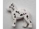 Part No: 92586pb03  Name: Dog Alsatian / German Shepherd (Police Dog/Fire Dog) with Dalmatian Pattern