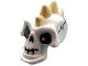 Part No: 93064pb01  Name: Minifigure, Head Modified Skull with Tan Spikes and Metal Eyepatch Pattern