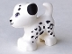 Part No: 93088pb04  Name: Dog, Friends, Puppy, Standing with Medium Lavender Eyes and Black Nose, Mouth and Spots Pattern (Cookie)