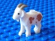 Part No: 95341pb01  Name: Goat with Dark Tan Horns and Medium Dark Flesh Spots Pattern