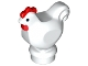 Part No: 95342pb01  Name: Chicken with Black Eyes and Red Comb and Wattle Pattern