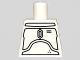Part No: 973pb0656  Name: Torso SW Armor Plates Pattern (Boba Fett Promotional)