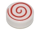 Part No: 98138pb013  Name: Tile, Round 1 x 1 with Spiral Red Pattern