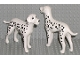 Part No: dalmatian01  Name: Dog, Scala with Dalmatian with White Ears Pattern