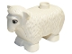 Part No: dupsheepnewpb01  Name: Duplo Sheep Second Version with Standing Ears