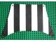 Part No: sailbb06  Name: Cloth Sail 27 x 17 Top with Black Thick Stripes Pattern