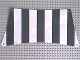 Part No: sailbb07  Name: Cloth Sail 30 x 15 Bottom with Black Thick Stripes Pattern