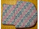 Part No: sleepbag06  Name: Duplo Cloth Sleeping Bag with Pink and Blue Bunny Pattern