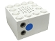 Part No: x869b  Name: Electric, Train 4.5V Microphone 4 x 4 x 2 with Vertical Plug Sockets