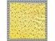 Part No: x883pb02  Name: Scala Cloth Blanket 17 x 17 with Yellow Check Stripes and Cherries Pattern