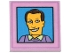 Part No: 3068bpb0925  Name: Tile 2 x 2 with Groove with Simpsons Smiling Male Character Photograph Pattern