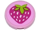 Part No: 4150pb157  Name: Tile, Round 2 x 2 with Strawberry Pattern (Sticker) - Set 41035