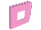 Part No: 51260  Name: Duplo Building Wall 1 x 8 x 6 with Window Opening, Hinge on Right