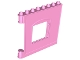 Part No: 53916  Name: Duplo Building Wall 1 x 8 x 6 with Window Opening, Hinge on Left