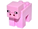 Part No: minepig01  Name: Minecraft Pig - Complete Assembly