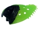 Part No: 15358pb001  Name: Hero Factory Creature Cocoon Petal with Black Base Pattern