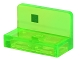 Part No: 4865pb069  Name: Panel 1 x 2 x 1 with Dark Green Square Off-Set Pattern (Minecraft Slime)