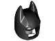 Part No: 10113  Name: Minifigure, Headgear Mask Batman Type 2 Cowl (Angular Ears, Pronounced Brow)