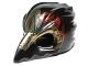 Lot ID: 49052628  Part No: 12550pb02  Name: Minifigure, Headgear Mask Bird (Raven) with Gold Beak and Dark Red Markings Pattern
