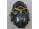Part No: 13691pb01  Name: Large Figure Head Modified Chima Gorilla with Blue Eyes with Gold Outline Pattern