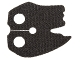 Part No: 23901  Name: Minifigure, Cape Cloth, Tattered Edges (SW Kylo Ren)