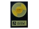 Part No: 26603pb029  Name: Tile 2 x 3 with Gold Record 'Everything Is Awesome' Pattern