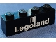Part No: 3010p31  Name: Brick 1 x 4 with White Legoland Logo Pattern