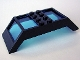 Part No: 30343c01  Name: Window 4 x 10 x 2 Roof Slope Double, Trans-Dark Blue Glass