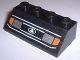 Part No: 3037px1W  Name: Slope 45 2 x 4 with Headlights 1 Pattern, White Lines