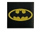 Part No: 3068bpb0999  Name: Tile 2 x 2 with Oval Batman Logo Pattern
