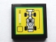 Part No: 3068bpb1073  Name: Tile 2 x 2 with F1 Race Car and Bar Gauge Pattern (Sticker) - Set 75913