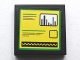 Part No: 3068bpb1074  Name: Tile 2 x 2 with Bar Graph and Sine Wave Meters and Text Lines Pattern (Sticker) - Set 75913