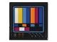 Part No: 3068bpb1206  Name: Tile 2 x 2 with TV Color Bars (Sticker) - Set 70831
