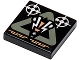 Part No: 3068bpx7  Name: Tile 2 x 2 with Insectoid Logo in Triangle Pattern